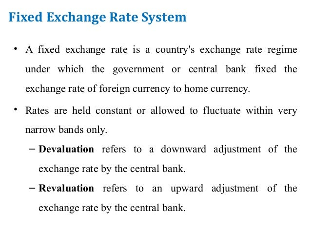 advantages of managed floating exchange rate system Floating exchange rates  managed  advantages of floating exchange  lack of policy constraints - the government are free with a floating exchange rate system.