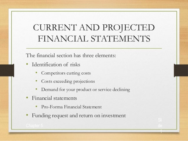 Financial business plan ppt slideshare