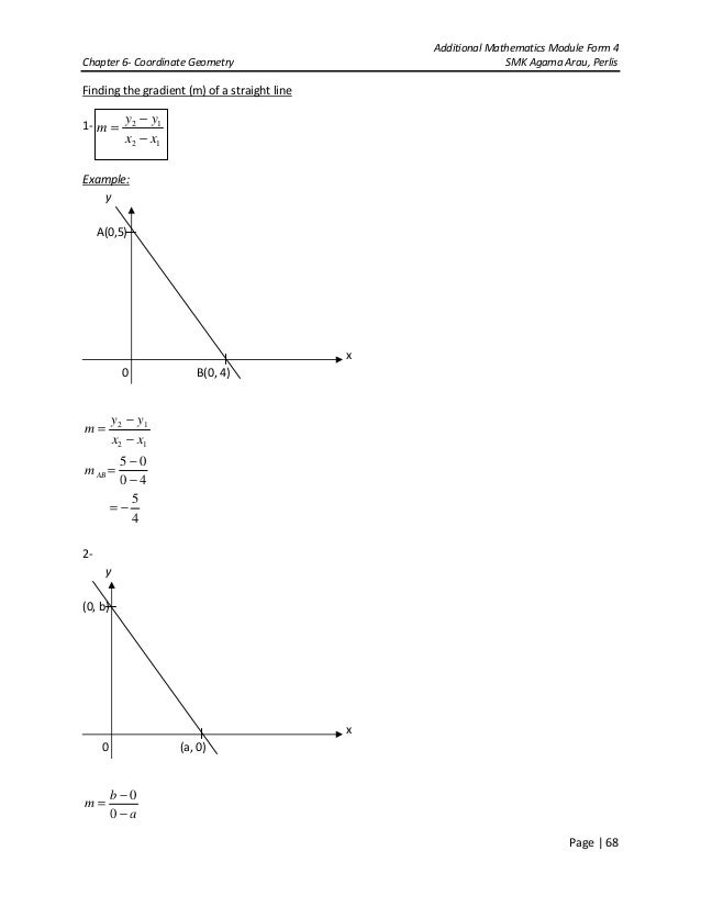 Chapter 6 coordinate geometry 9 additional mathematics module form 4chapter 6 coordinate geometry ccuart Gallery
