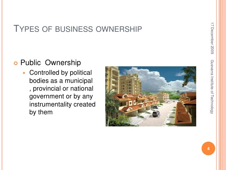Forms of business enterprise