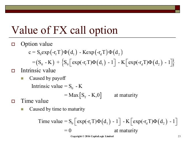 Average rate fx options