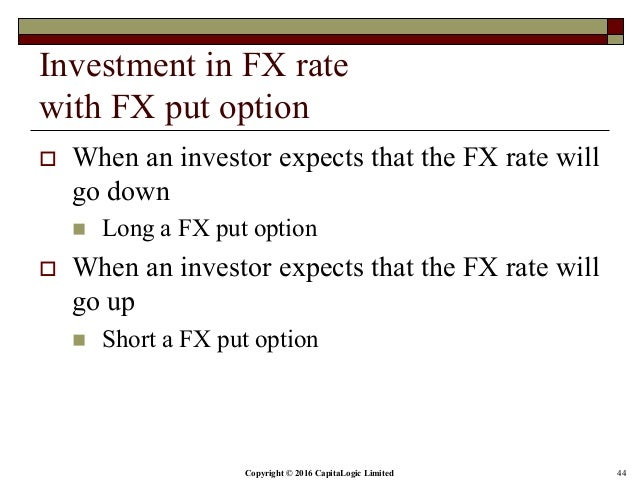 Fx rate options