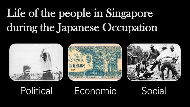 Japanese occupation essay