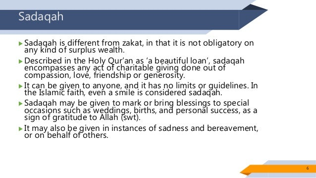 Chapter 6 Sadaqah, Waqf and Hibah Planning
