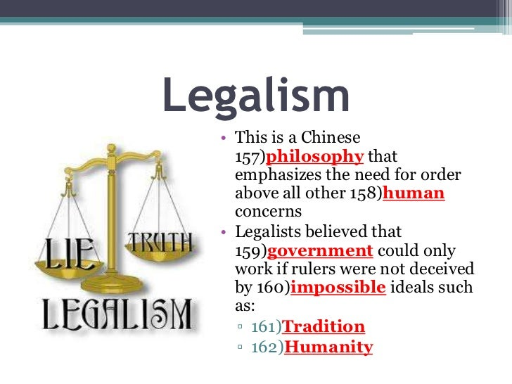 legalism in china Check out our top free essays on legalism in china to help you write your own essay.