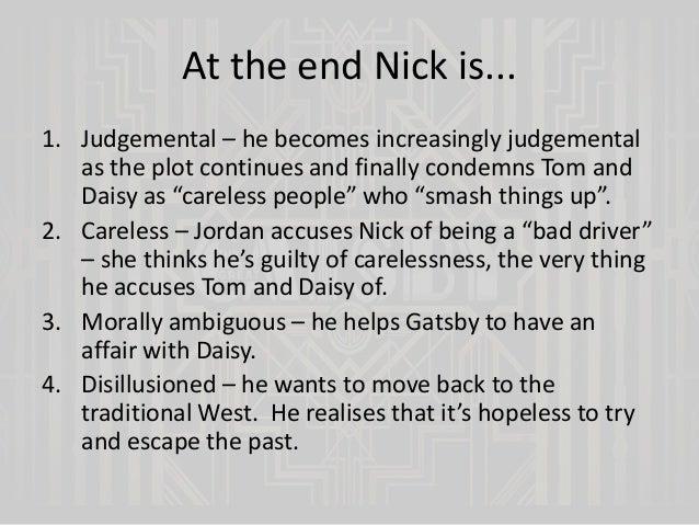 gatsby essay carelessness