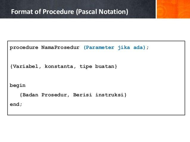 Pascal algorithm mining