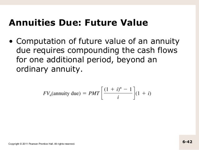 chapter 6 annuity
