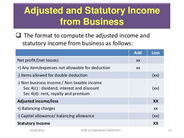taxation and income statutory income Lecture 7 taxation romanian tax system income and corporate tax andreea stoian professor of finance, phd department of finance and cefimo bucharest university of economic studies.