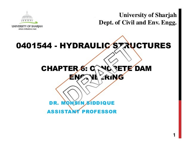 Chapter 6 Concrete Dam Engineering With Examples