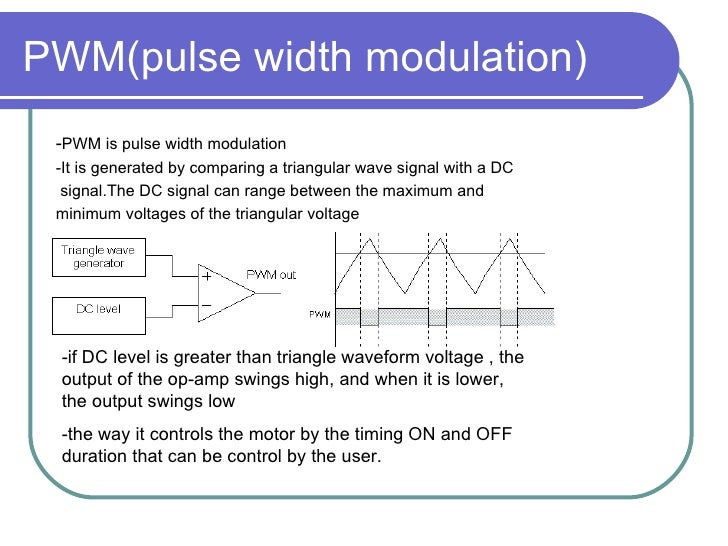 Chapter 6 Dc Motor Speed Control