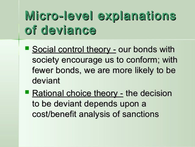Chapter 6 Deviance And Social Control Ppt