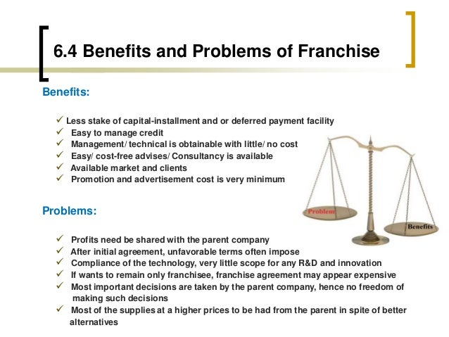 franchisor and franchisee relationship issues with blended