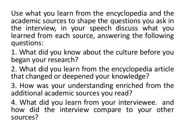 intercultural interview Intercultural and cross-cultural communication research: some reflections about culture and qualitative methods.