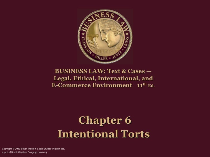 BUSINESS LAW: Text & Cases —                                             Legal, Ethical, International, and               ...