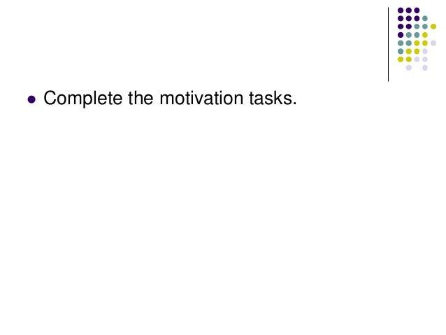 Motivation     Define the term Motivation. Using the text book summarise the following terms:       Intrinsic Motiv...