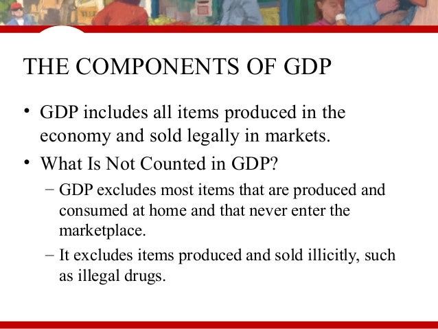 what is not included in gdp