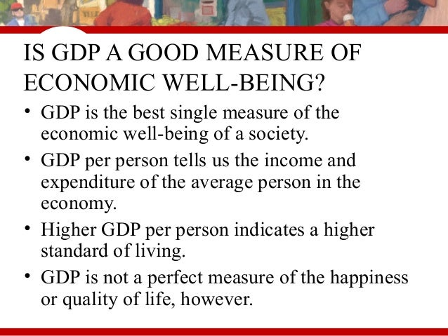 four limitations of using gdp to measure economic growth