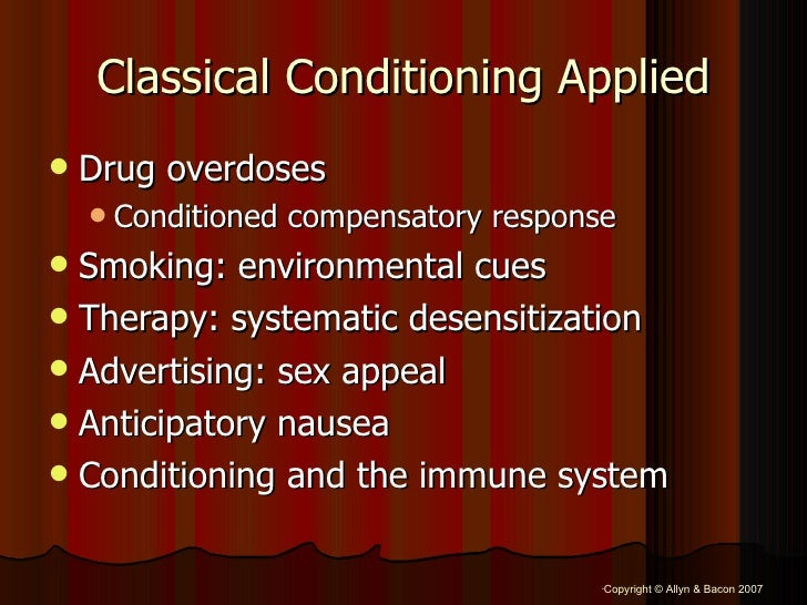 Conditioning learning by sex appeal
