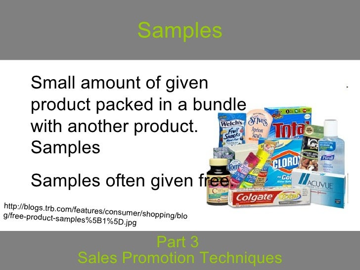 sales promotion technique Definition of trade sales promotion: a type of promotion related activity whereby a product and/or service is pushed through a marketing channel via the.