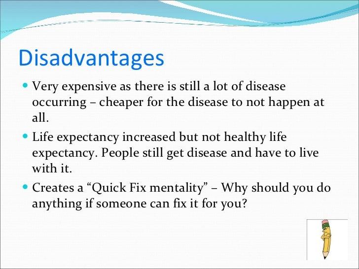 biomedical model of health advantages and disadvantages