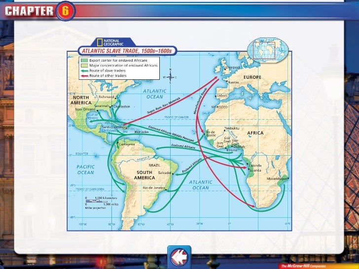 Connell high school world history chapter 6 powerpoint toeurope 72 middle passagethe journey of gumiabroncs Images
