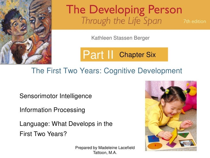 Kathleen Stassen Berger                         Part II            Chapter Six      The First Two Years: Cognitive Develop...