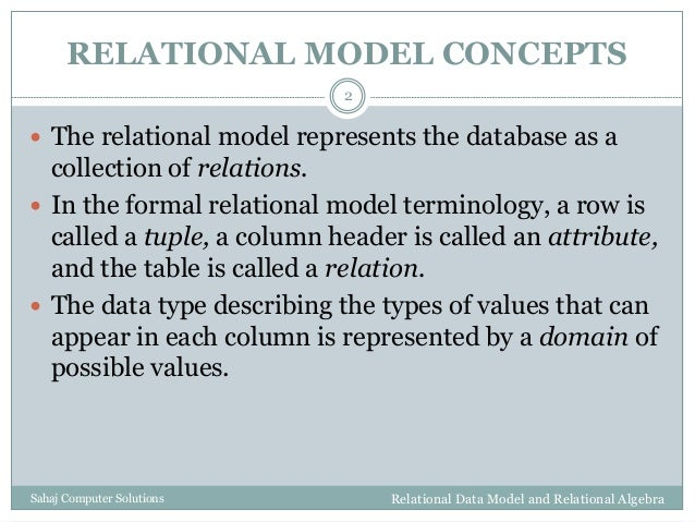 Troels' links: Relational database systems