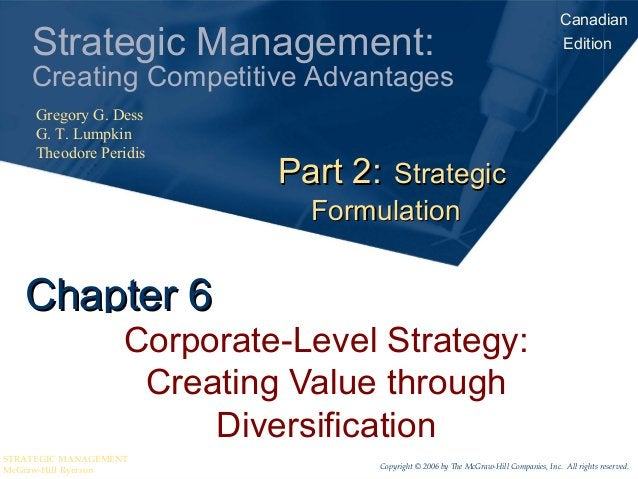 Canadian    Strategic Management:                                                               Edition    Creating Compet...
