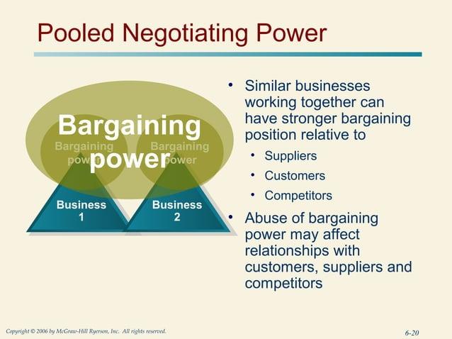 Pooled Negotiating Power                                                                       • Similar businesses       ...