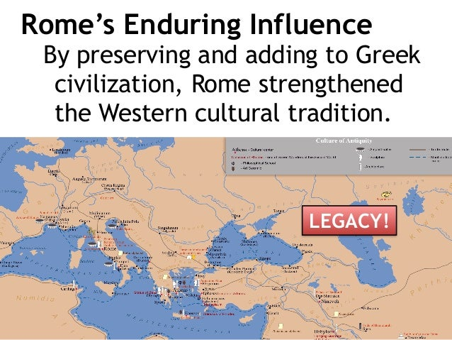 how do roman design change european civilization