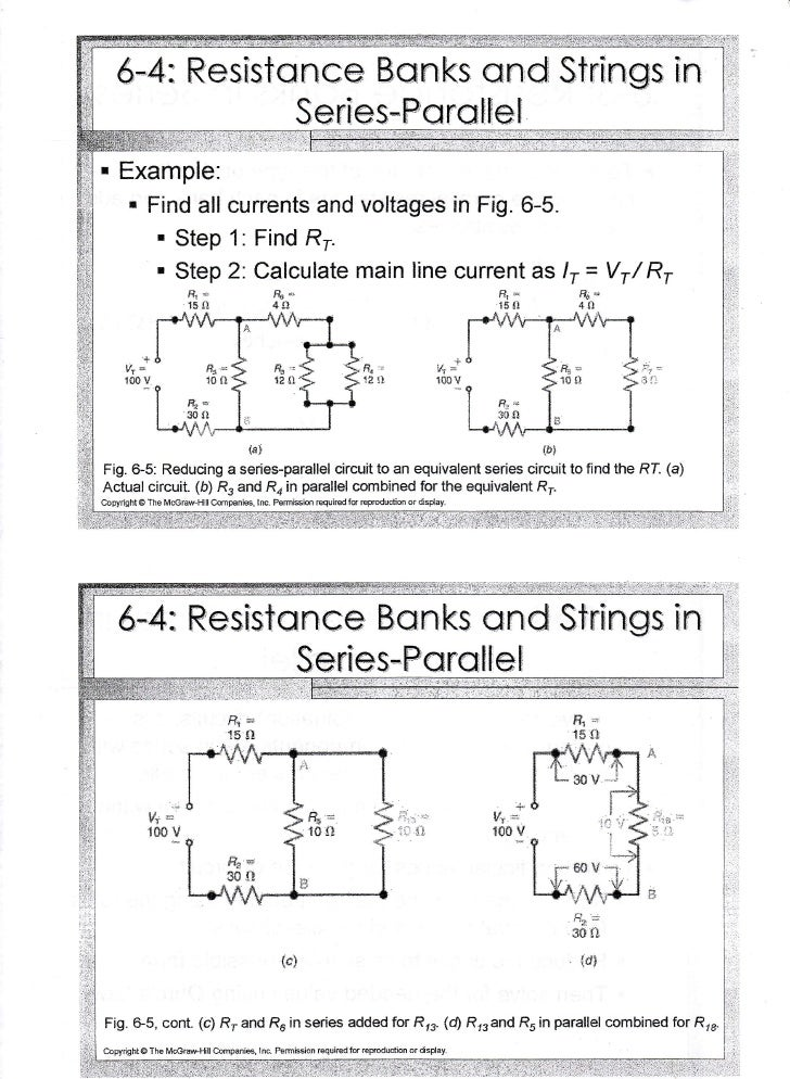 Chapter 6(series parallel circuit)