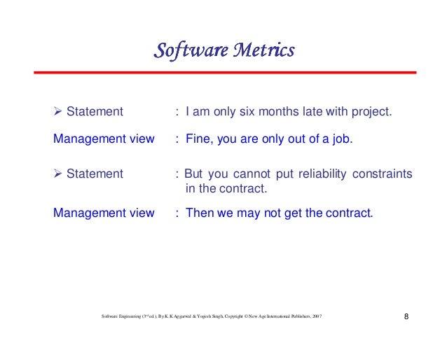 Chapter 6 software metrics