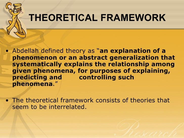 Help research paper theoretical framework examples qualitative