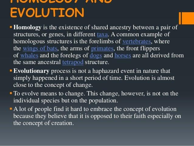 Chapter 6 : The Process of Evolution Slide 2