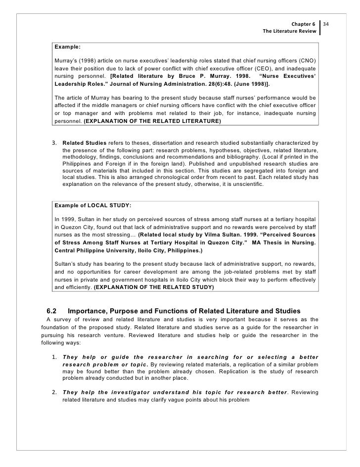 the review of related literature and studies essay We have picked the best health-related ideas for the students who study  medicine  cancer – all these terrifying essay titles are healthcare research  topics  author of the health-related literature, it is important to select several  relevant.
