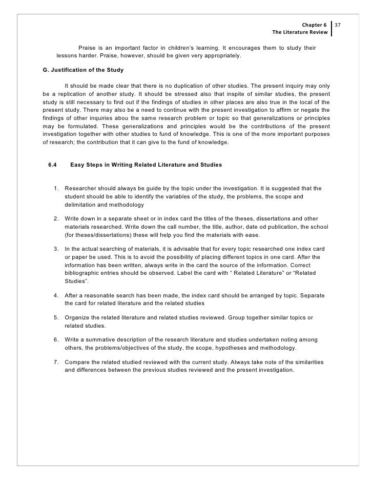 literature review legal research