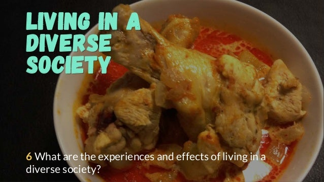 Living in a Diverse Society 6 What are the experiences and effects of living in a diverse society?