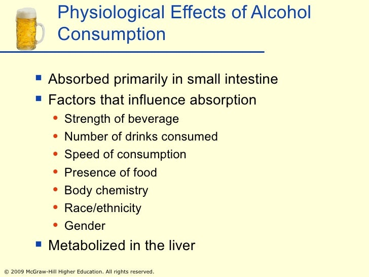 physchological effects of alcholism This chapter will examine the psychological effects of alcohol and caffeine, who  are the most likely users, its safety and health implications,.