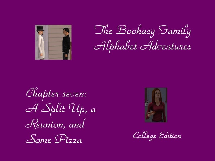 Dear reader, welcome to chapter 7 of the Bookacy Family Alphabet adventures! This is where we left off last time: the six ...