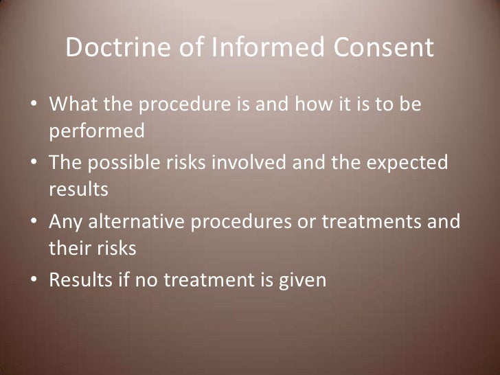 informed consent refusal and competence essay The statement on informed consent, parental permission, and patient assent has  a  for competent patients' autonomy ordinarily extends even to the refusal or.