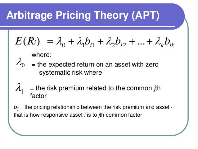 Arbitrage Pricing Theory Against Capital Asset Pricing Model