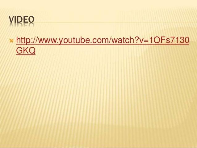 VIDEO  http://www.youtube.com/watch?v=1OFs7130 GKQ