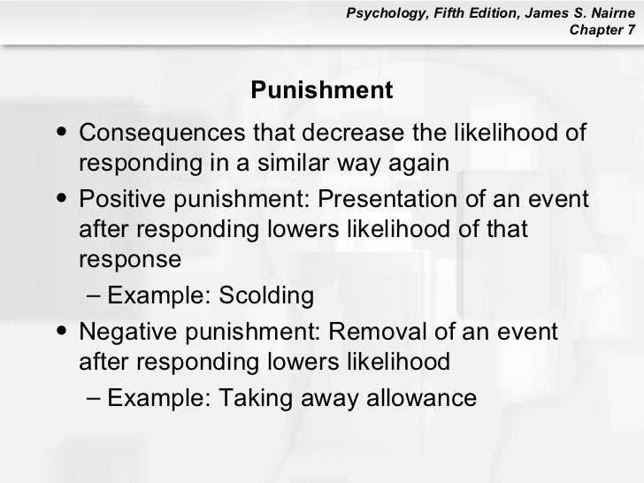 psychological punishment Children in a school that uses corporal punishment performed significantly worse in tasks involving executive functioning -- psychological processes such as planning, abstract thinking.