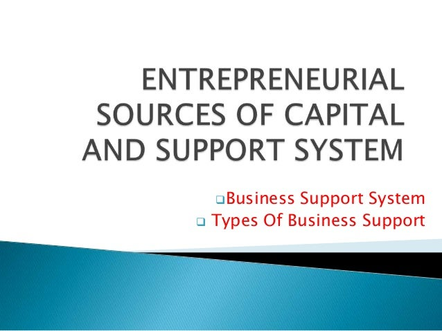 Business    Support System Types Of Business Support