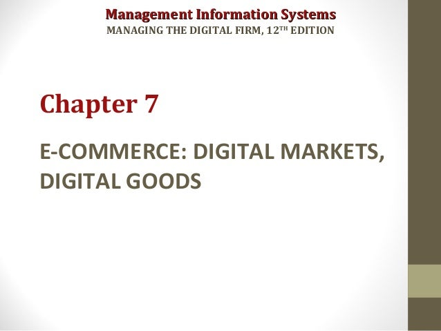 Mis laudon 12th ed chapter 5