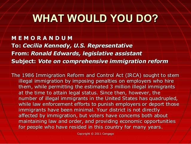 M E M O R A N D U MM E M O R A N D U M To:To: Cecilia Kennedy, U.S. RepresentativeCecilia Kennedy, U.S. Representative Fro...