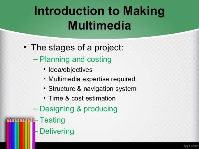 Chapter 7: making multimedia.