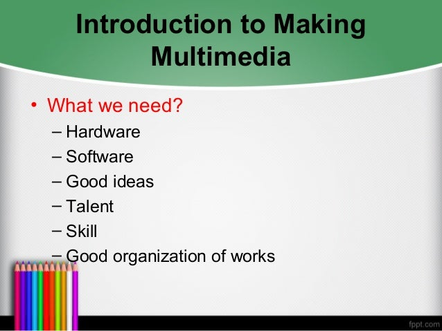 stages of multimedia project planning Managing multimedia: includes management guidelines for each stage of the  multimedia project life cycle from initiation to completion defines the project.