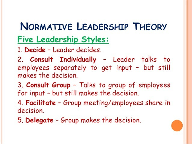 normative leadership style Laissez-faire leadership styles and employee commitment  significant  relationship between transformational leadership and normative commitment.